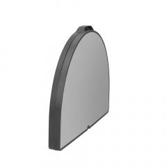 Crespo Mesa Rectangular Doble 65 x 52 x CM Negra 48-69