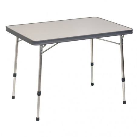 Crespo AL-246 gris - Mesa plegable rectangular 101 x 65