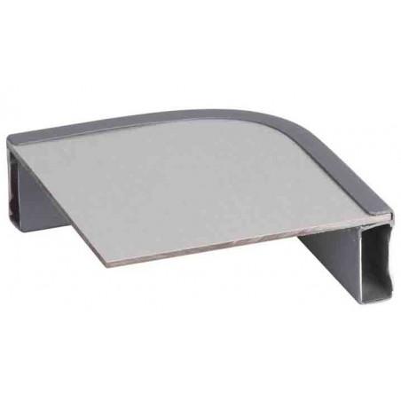 Mesa plegable Crespo RECTANGULAR 80 X 60 - gris