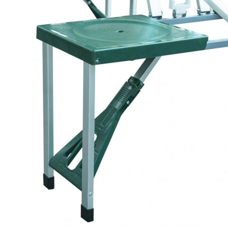 Mesa plegable Hosa PICNIC MALETA - verde