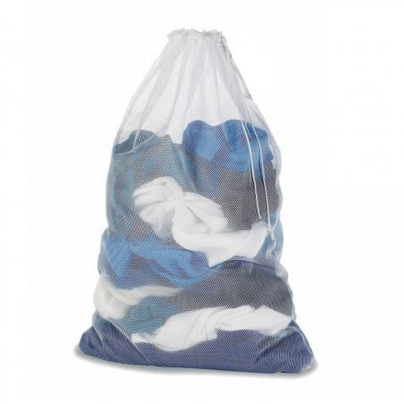 Bolsa de malla para colada Rockwest RED LAVADORA NYLON - blanca