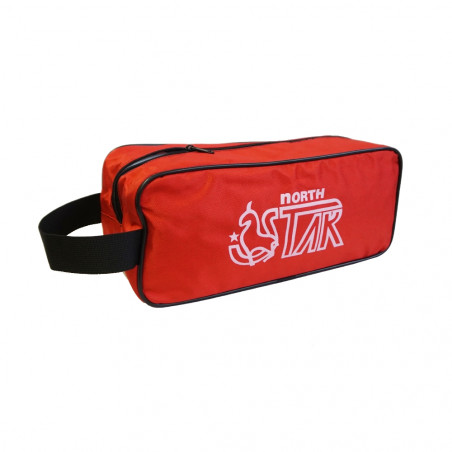 Bolsa gym para zapatos North Star SHOE BAG - roja