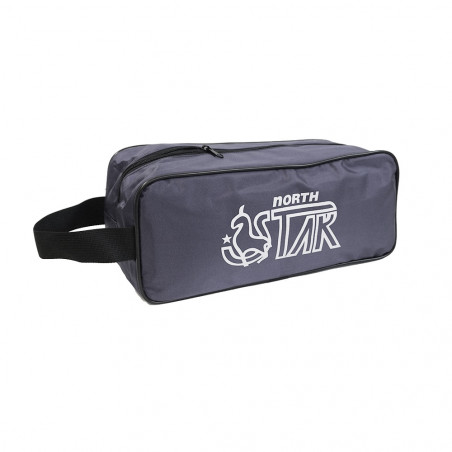 Bolsa para zapatos o gimnasio North Star SHOE BAG - plata