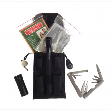 Locust Survival Kit - Kit supervivencia completo con Alicates multiusos