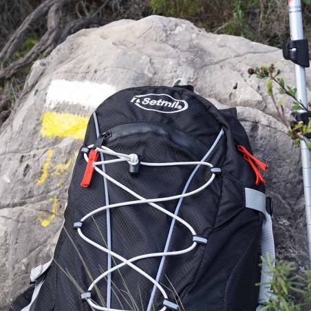 Mochila de trekking DYNAMIC 25 negra