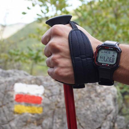 Par de bastones de trekking Setmil PRO LOCK - rojos