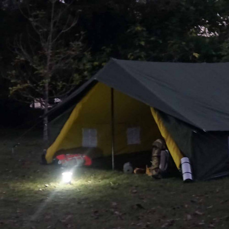 Lámpara de camping Hosa CAMP SUPERLIGHT fluorescente - caqui