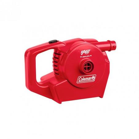 Hinchador eléctrico recargable Coleman QUICK PUMP - rojo