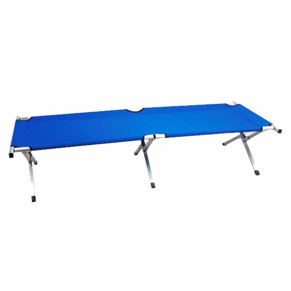 Cama plegable campamento Hosa CAMP BED - azul