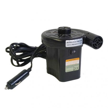 Hinchador eléctrico Hosa 12V 120W coche/red - negro