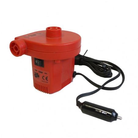 Hinchador eléctrico Camping Sport 12V 120W coche/red - rojo