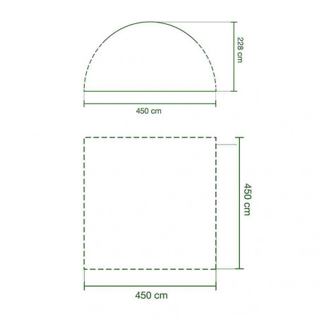 Toldo Coleman EVENT SHELTER XL