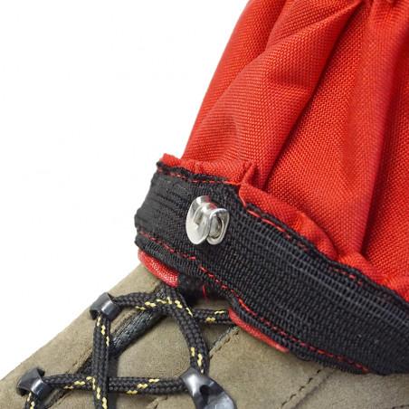 Pack 2 polainas North Star POLAINA CORDURA® - roja y gris volcánico