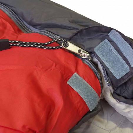 Saco de dormir Setmil COMPACT 250 - rojo