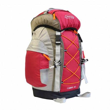 Mochila de trekking Setmil CUMBRE 40 - granate