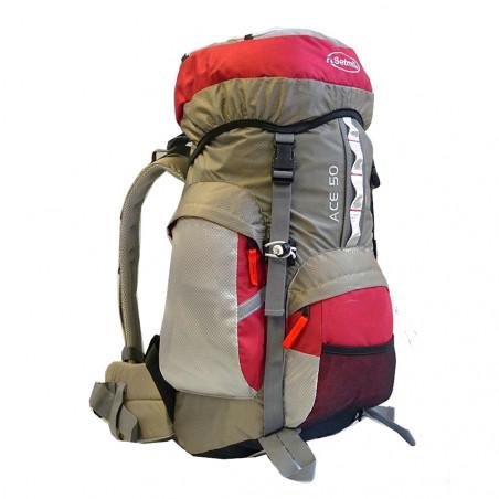 Mochila de trekking Setmil ACE 50 - granate