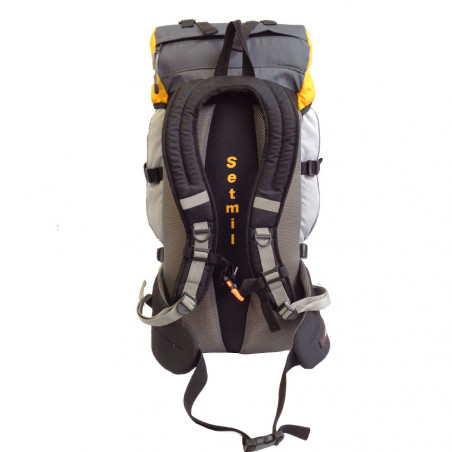 Mochila de trekking Setmil FORREST 60 - gris y amarilla