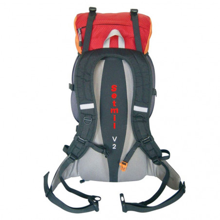 Mochila de trekking Setmil FORREST 60 - roja y naranja
