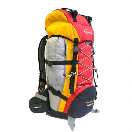Mochila de trekking Setmil FORREST 60 - roja y amarilla