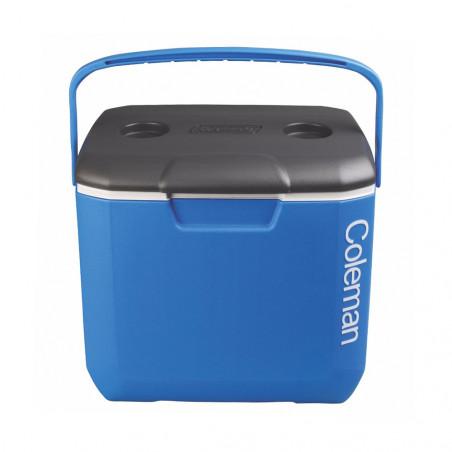 Nevera rigida Coleman 30QT - azul