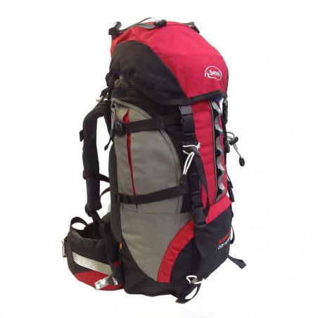 Mochila de trekking Setmil ALPINIST 60 - roja