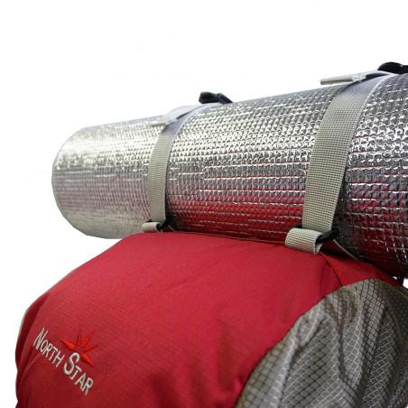 Mochila de trekking North Star COLONIAS 65 - granate