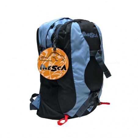 Mochila de trekking Inesca URUYEN 30L - azul y negra