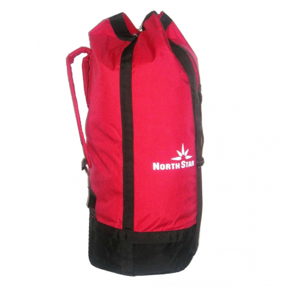 Bolsa North Star PETATE CORDURA 90L - roja