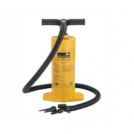 Inflador bomba High Peak DOUBLE ACTION PUMP