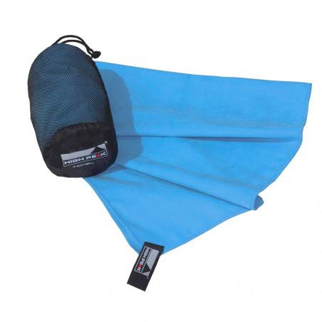 Toalla microfibra grande High Peak TOWEL 100 X 150 CM - azul