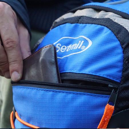 Mochila de trekking Setmil DUAL 20 - azul