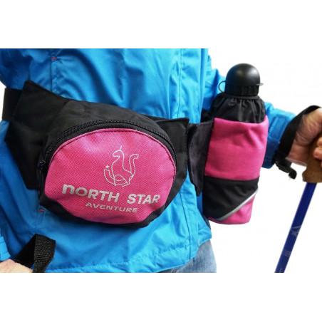Riñonera North Star ADVENTURE - rosa