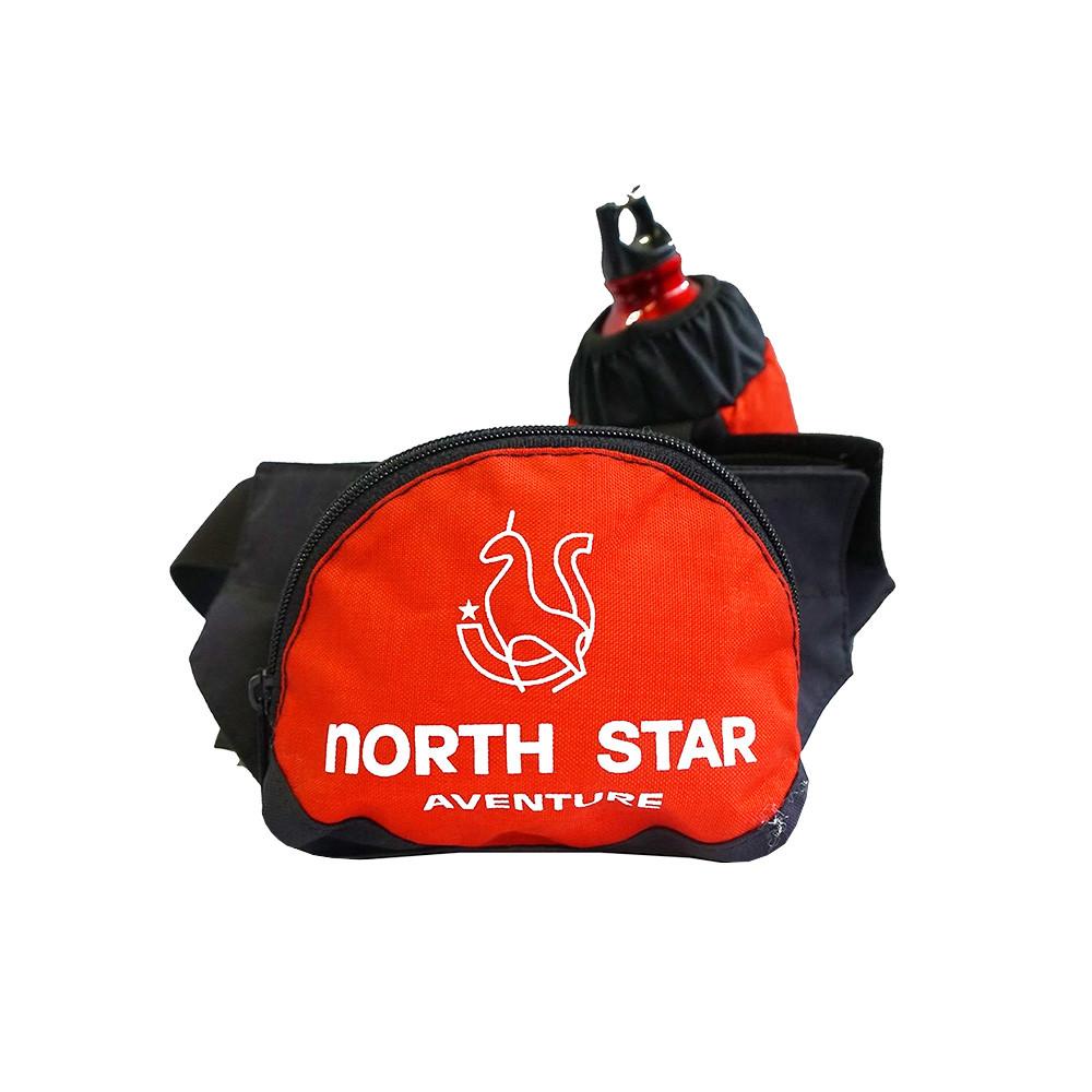 Riñonera North Star ADVENTURE - roja