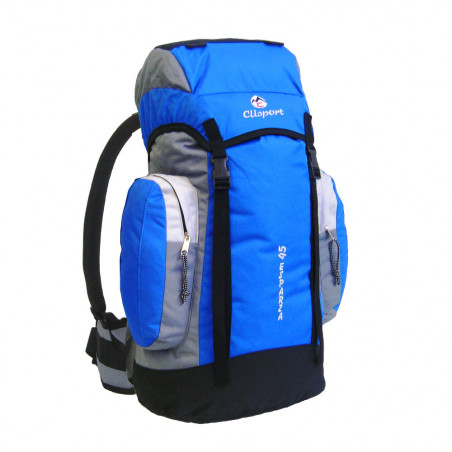 Mochila de trekking Clisport ESPARZA 45L azul