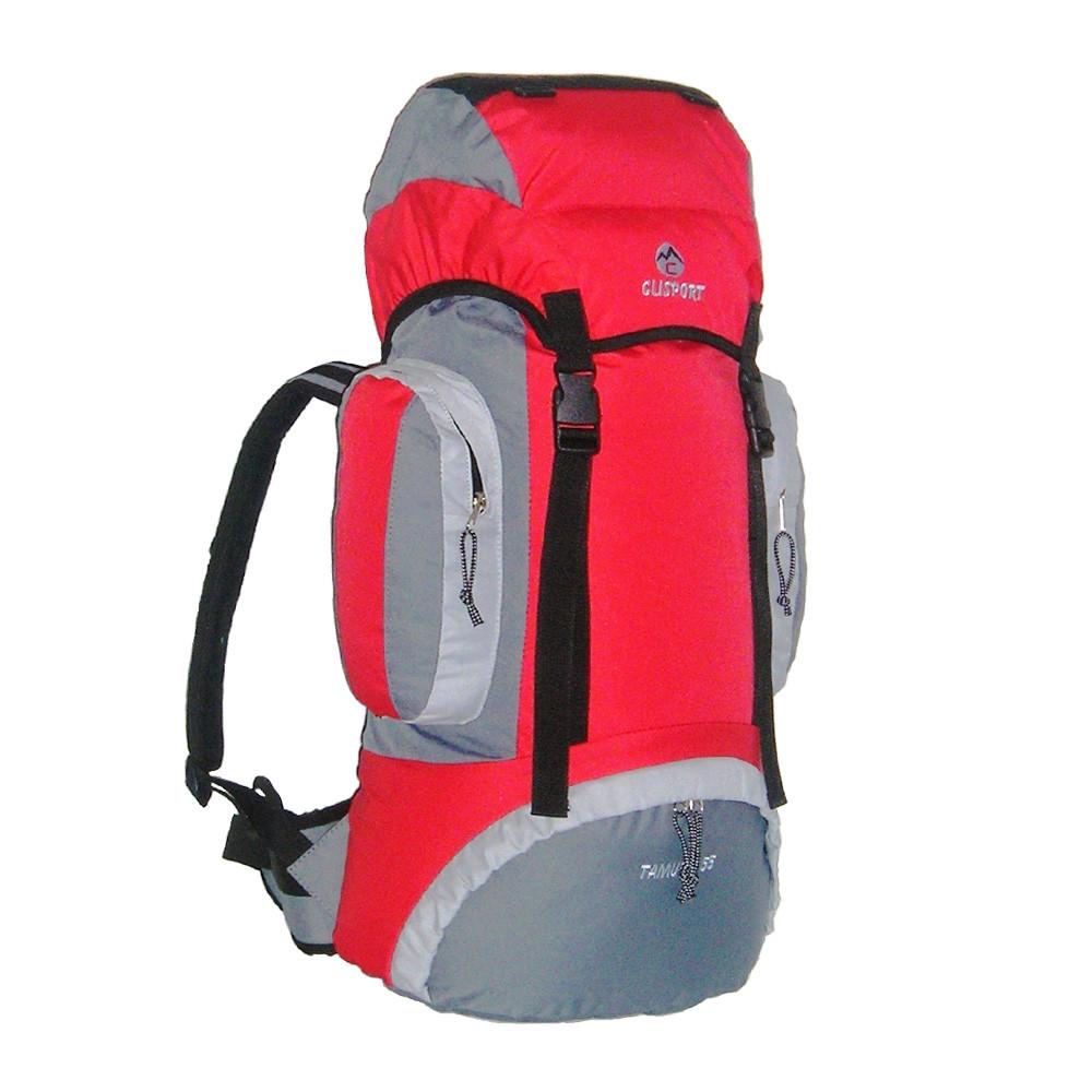 Mochila de trekking Clisport TAMURO 55L roja