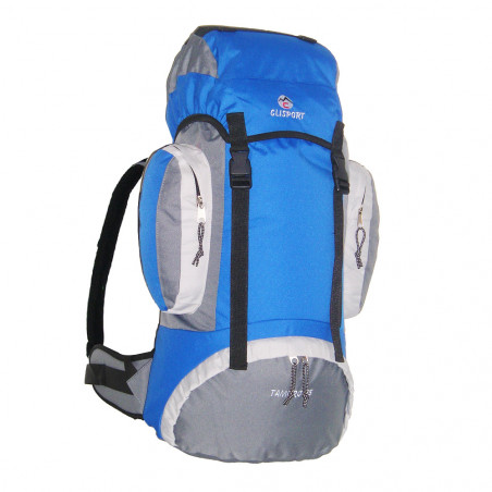 Mochila de trekking Clisport TAMURO 55L - azul