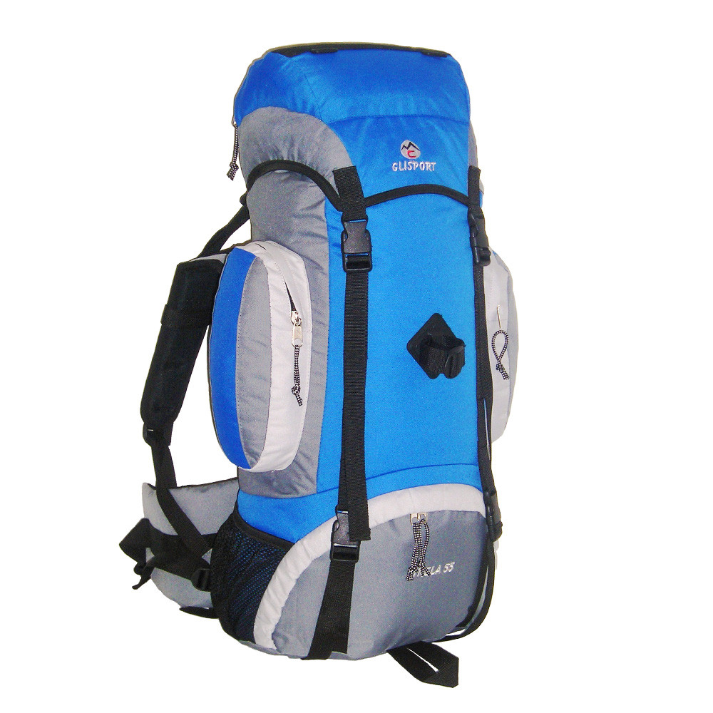 Mochila de trekking Clisport SIRELA 55L azul