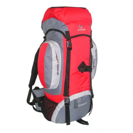 Mochila de trekking Clisport GUELAKA 65L roja