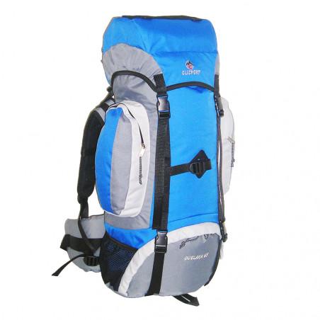 Mochila de trekking Clisport GUELAKA 65L - azul