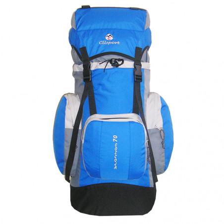 Mochila de trekking Clisport COSCOJA 70L azul