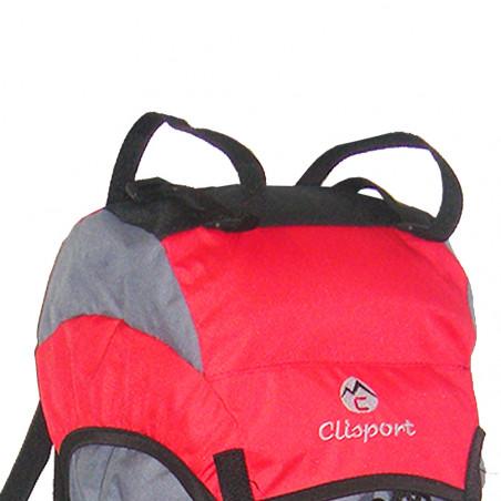 Mochila de trekking Clisport LATURA 60L roja