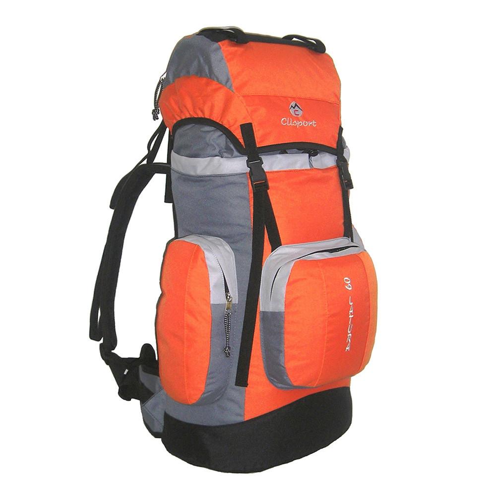 Mochila de trekking Clisport LATURA 60L naranja