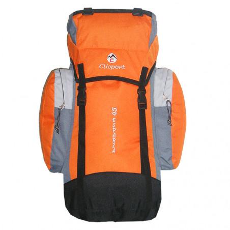 Mochila de trekking Clisport ESPARZA 45L naranja