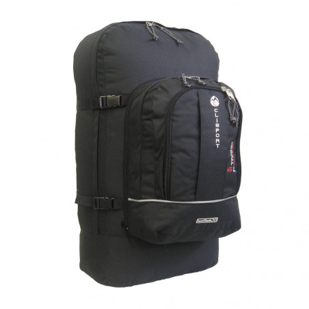 Mochila de viaje Clisport TRANCI 65L - negra