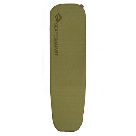 Esterilla autohinchable Sea to Summit CAMP MAT S. I. REGULAR - olive