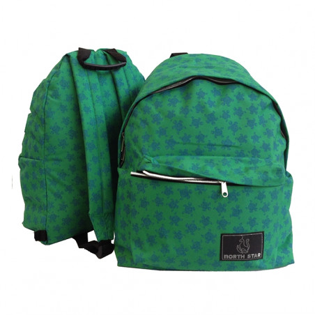 Mochila North Star Daypack TURTLE verde