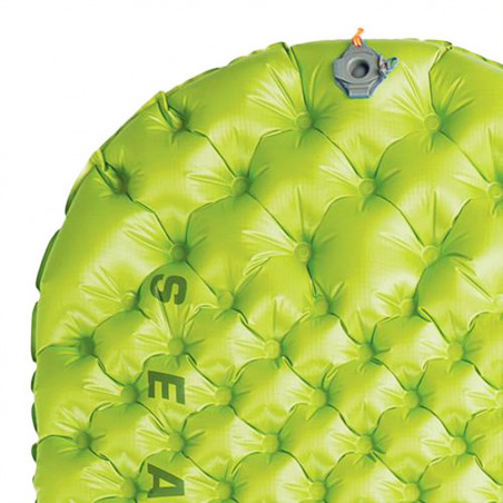 Esterilla hinchable Sea to Summit COMFORT LIGHT INSULATED R - verde