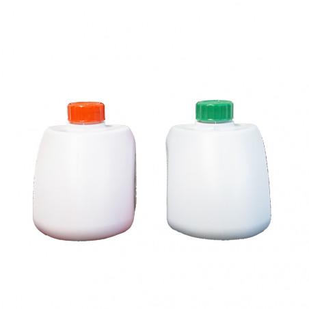 Líquidos para inodoro químico LÍQUDOS WC 500 ml + 500 ml