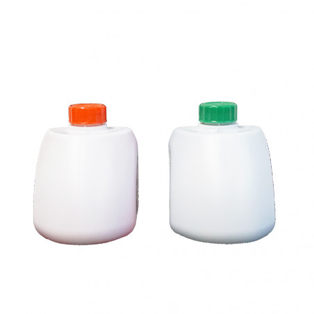 Líquidos para WC inodoro químico CAMP GREEN 500 ml + CAMP RINSE 500 ml