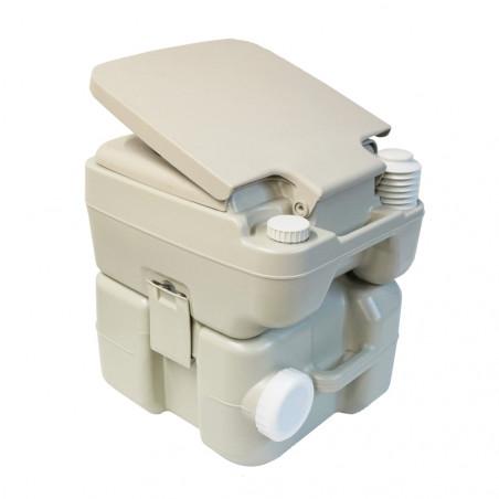Pack Inodoro químico portátil HOSA 20L + Líquidos WC